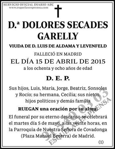 Dolores Secades Garelly